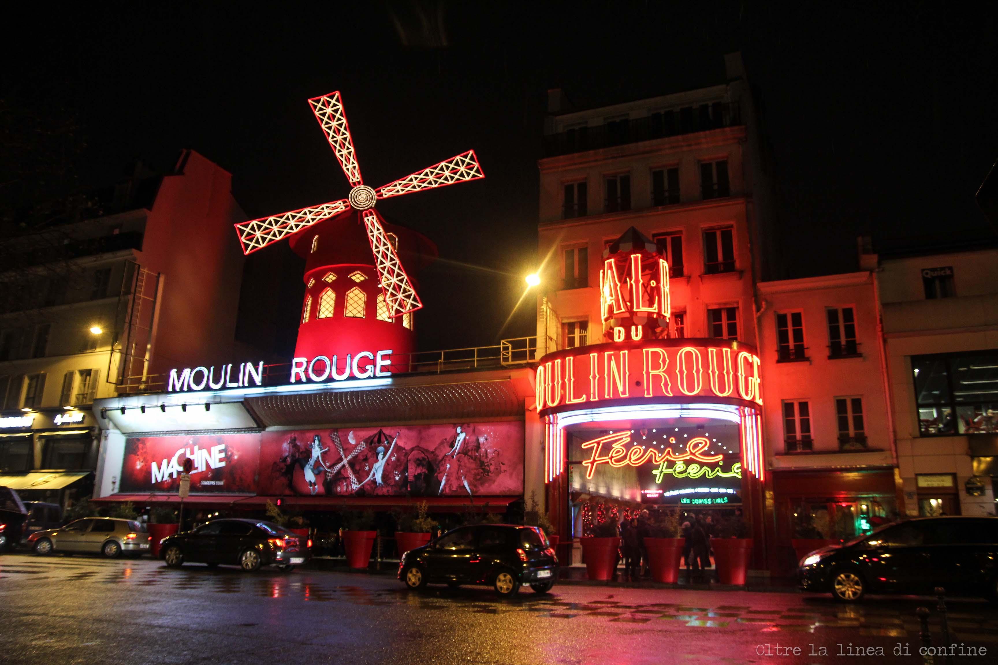 Moulin Rouge Parigi Pigalle Montmartre