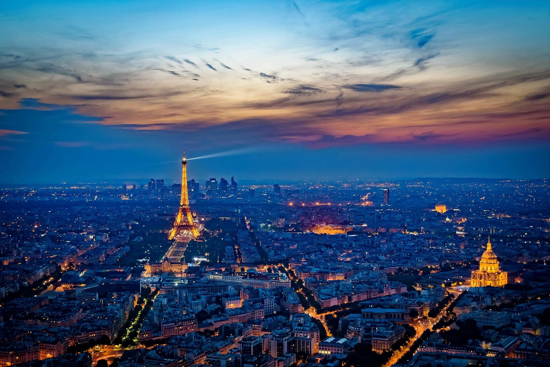 Parigi Cosa Vedere - Panorama Parigi - Parigi di Notte - Tour Eiffel - Paris by Night