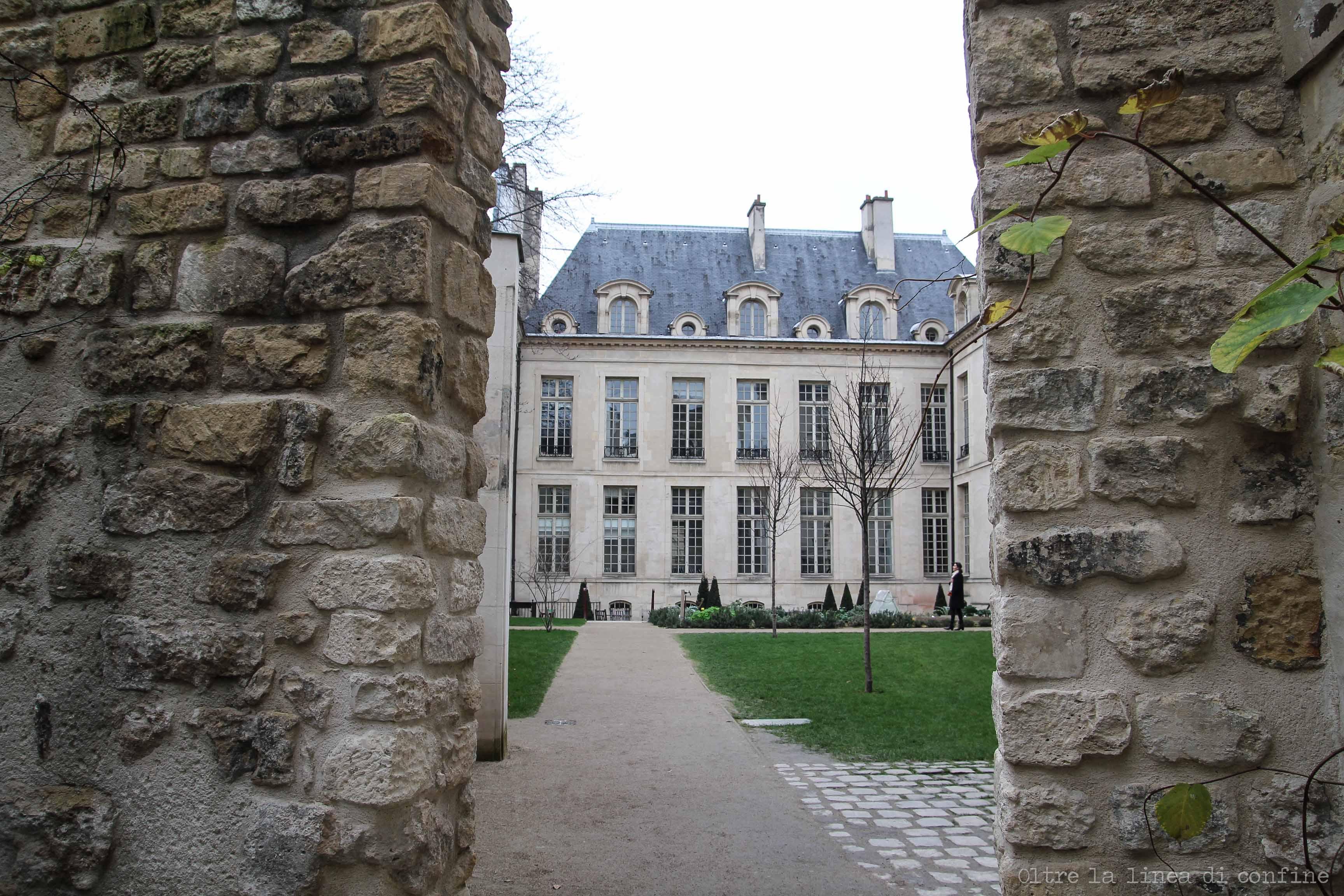 Parigi Marais Jardin Rosiers