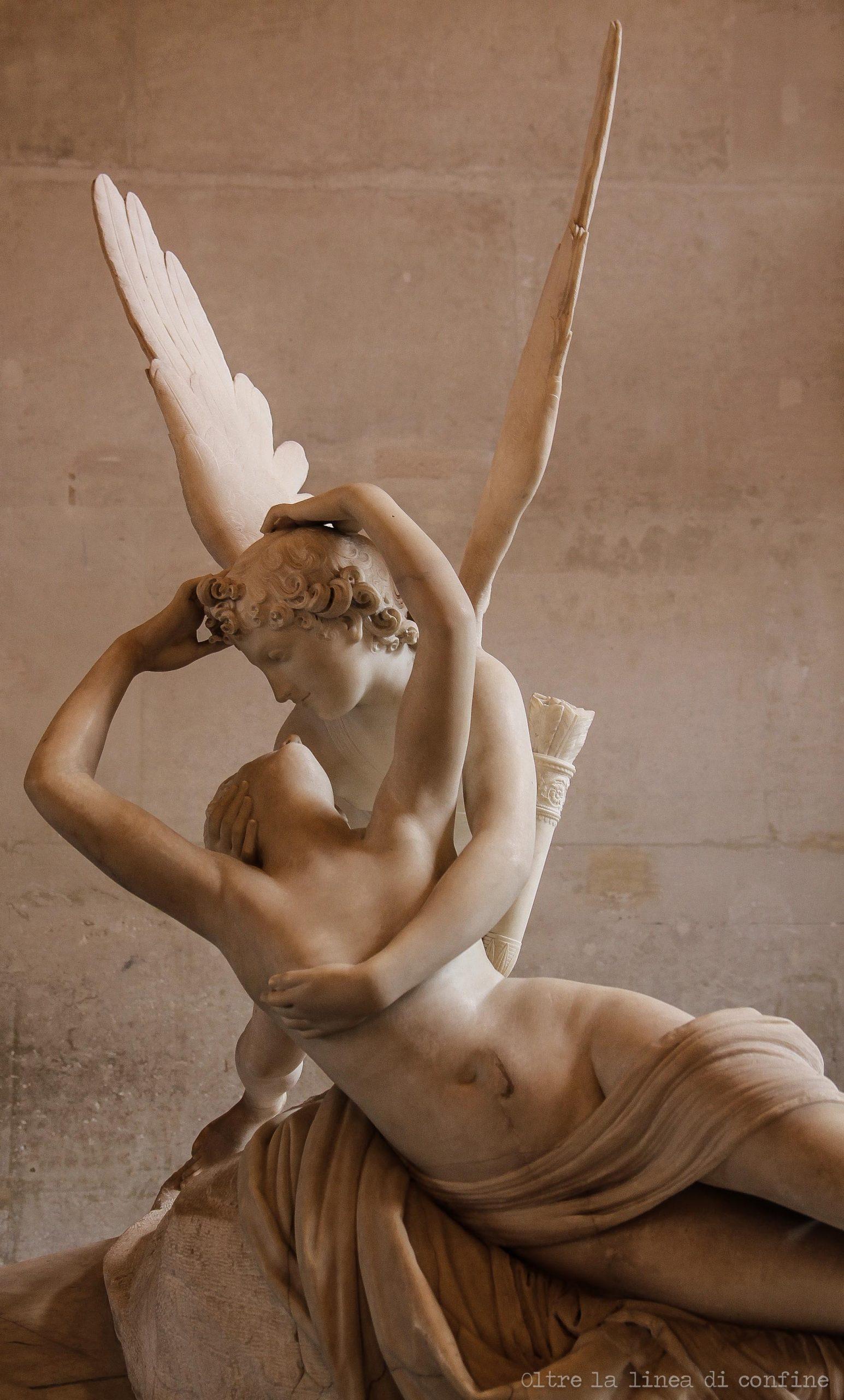 Amore e Psiche Louvre Parigi