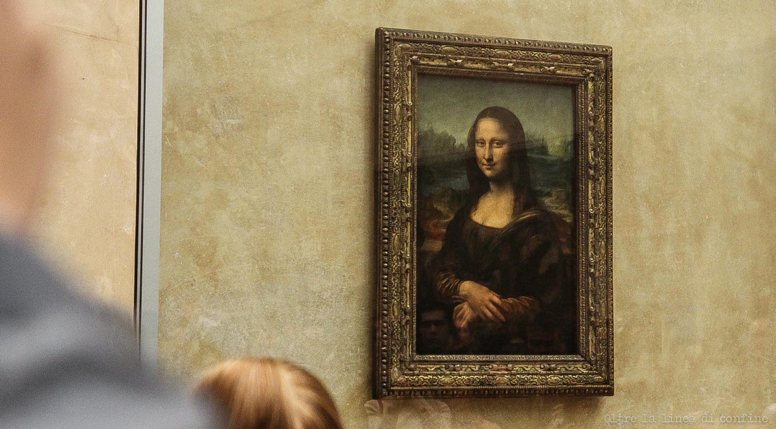 Parigi Louvre La Gioconda di Leonardo