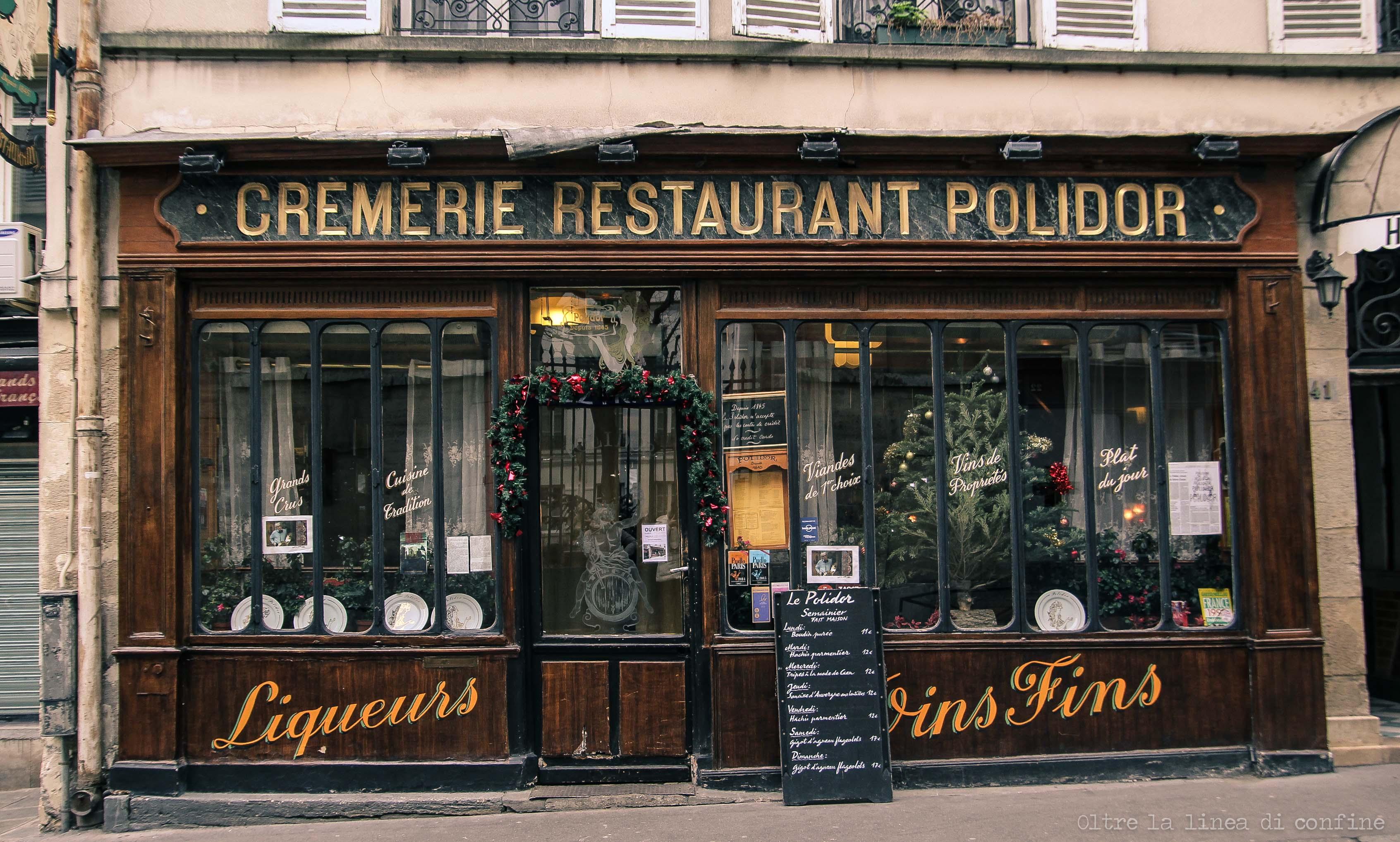 Parigi Cremerie Restaurant Polidor