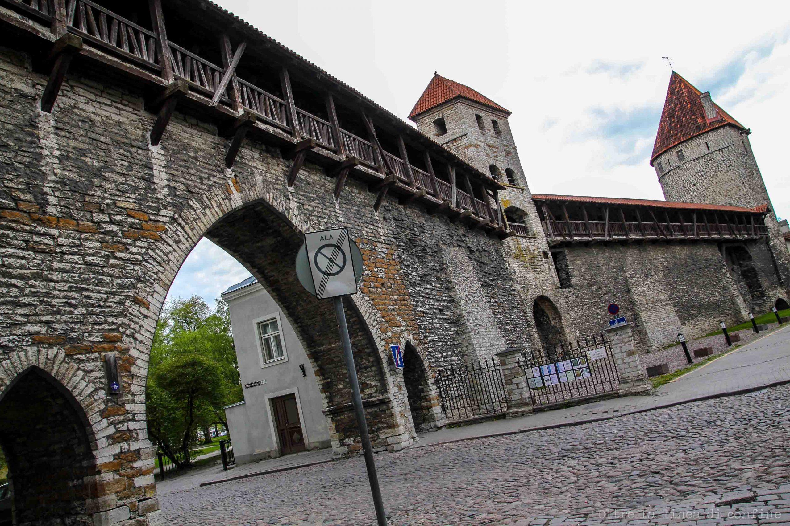 Tallinn Cosa Vedere Mura di Cinta