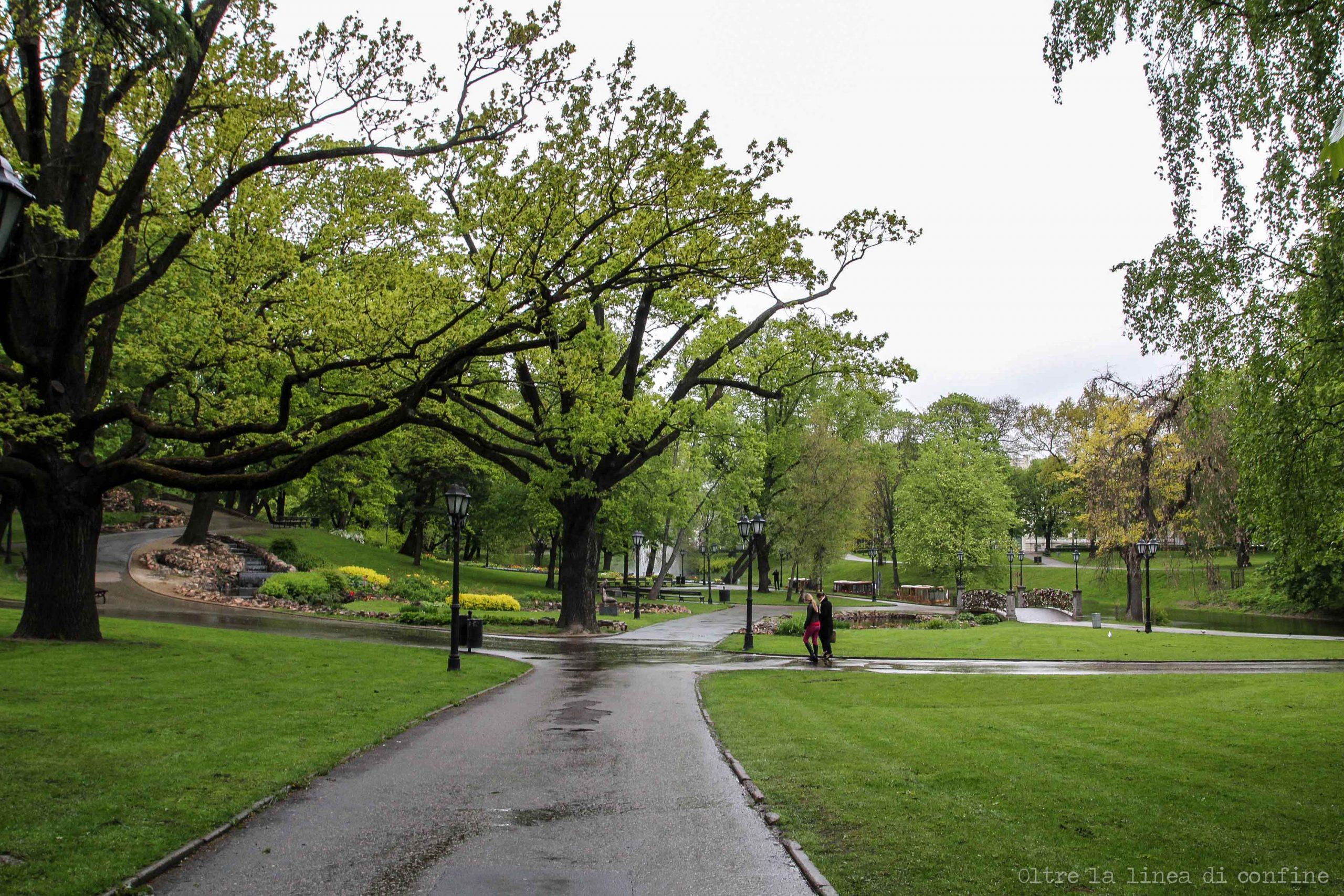 Riga Cosa Vedere Parco Canale