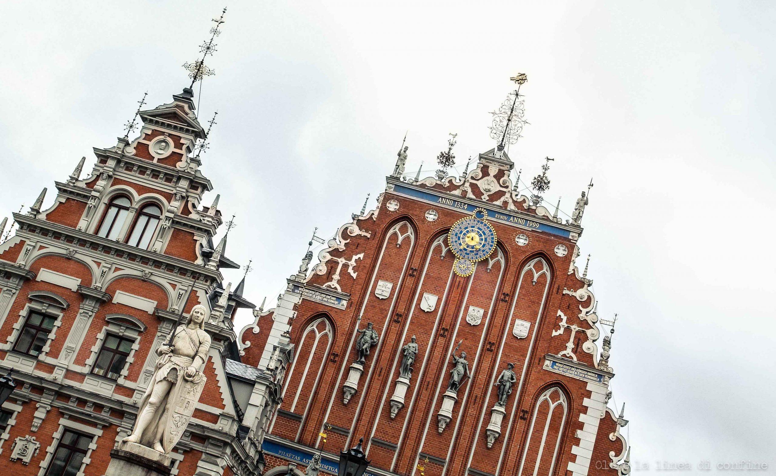 Riga Cosa Vedere: Casa delle Teste Nere