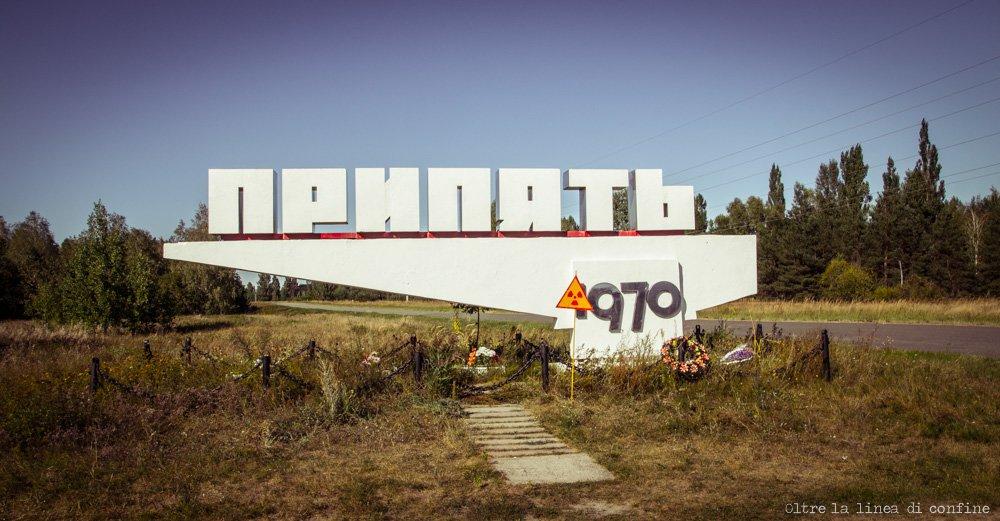 Pripyat Road Sign Chernobyl Diaries