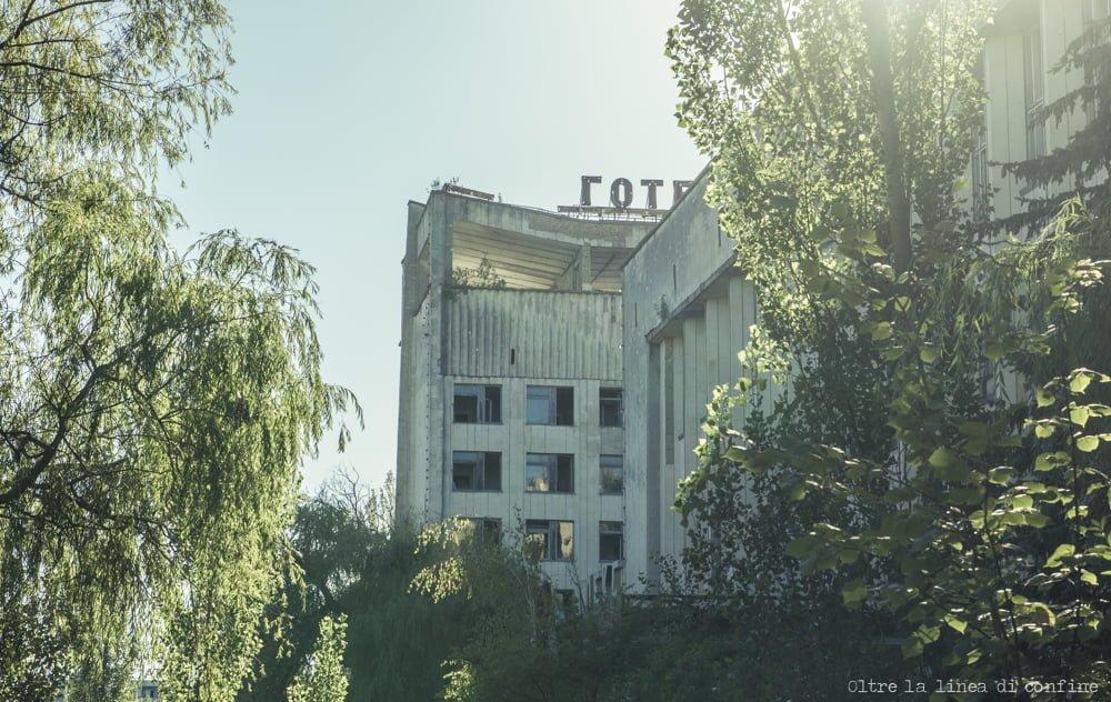 Hotel Polissya Pripyat Chernobyl