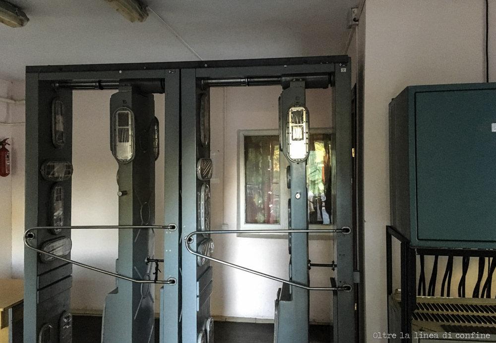 Chernobyl Oggi Checkpoint Controllo Dosimetrico