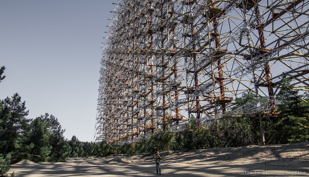 Chernobyl-2 Duga Radar Duga-3 Secret Soviet Base Russian Woodpecker