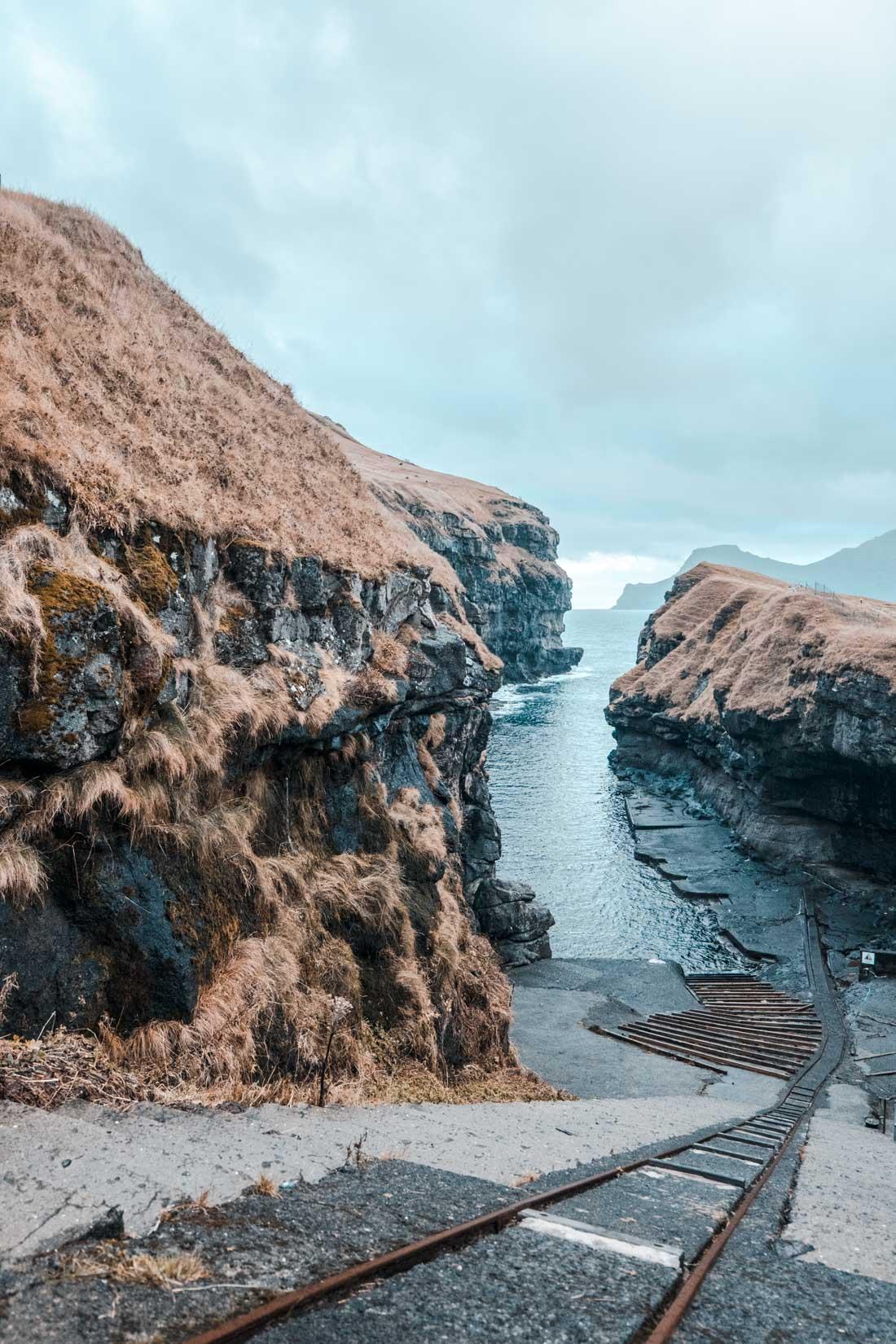 Gjógv Isole Faroe Cosa Vedere