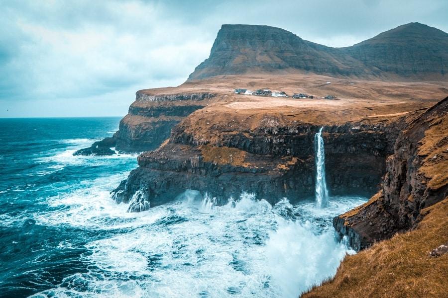 FAROE ISLANDS Gasadalur Isole Faroe