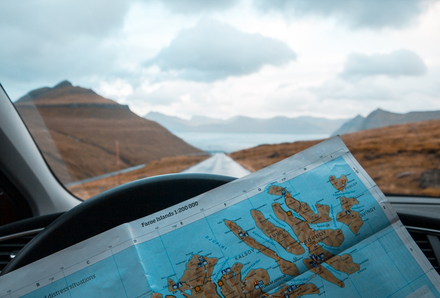 Isole Faroe Mappa