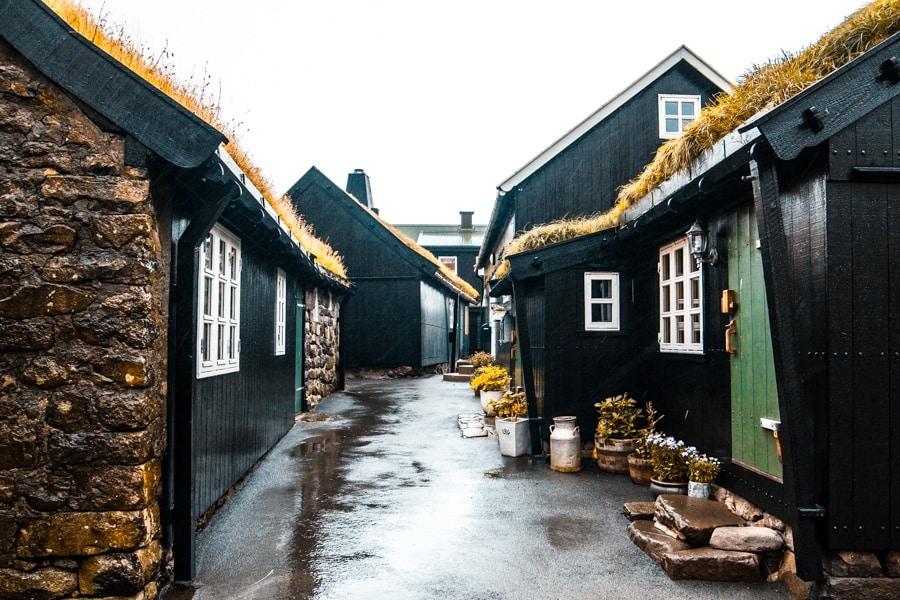 Tjørnuvík Isole Faroe