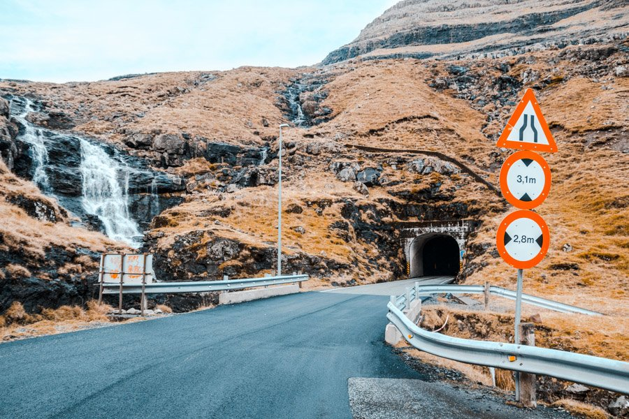 Faroe Islands Guide Tunnel