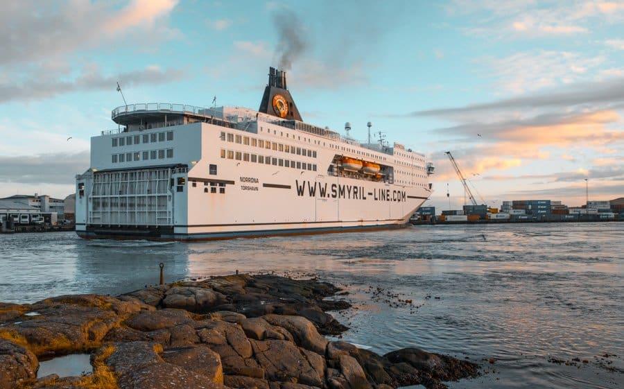 Faroe Islands Norrona Ship Iceland Denmark