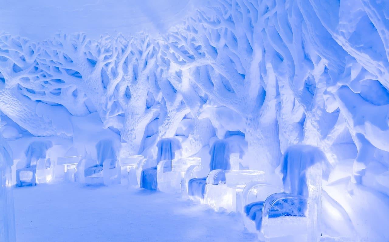 Snowhotel Kirkenes Aurora Boreale