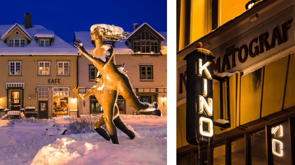 Tromso Cosa Vedere: il cinema nel centro di Tromso