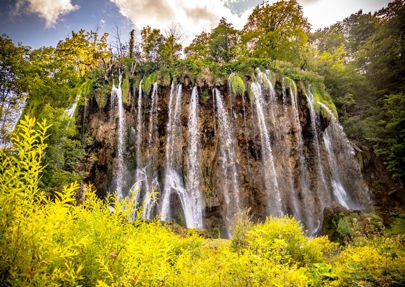 Laghi di Plitvice Cascate Laghi Superiori