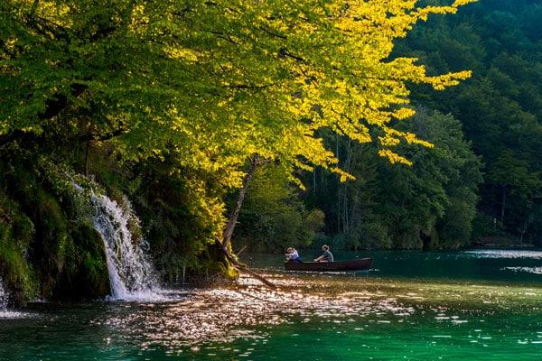 Laghi di Plitvice: il Lago Kozjak Jezero