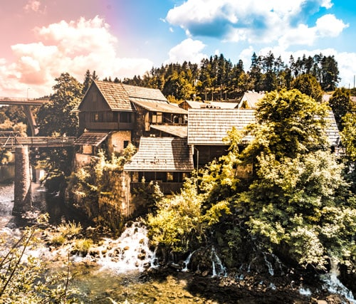 Rastoke Croazia Laghi di Plitvice